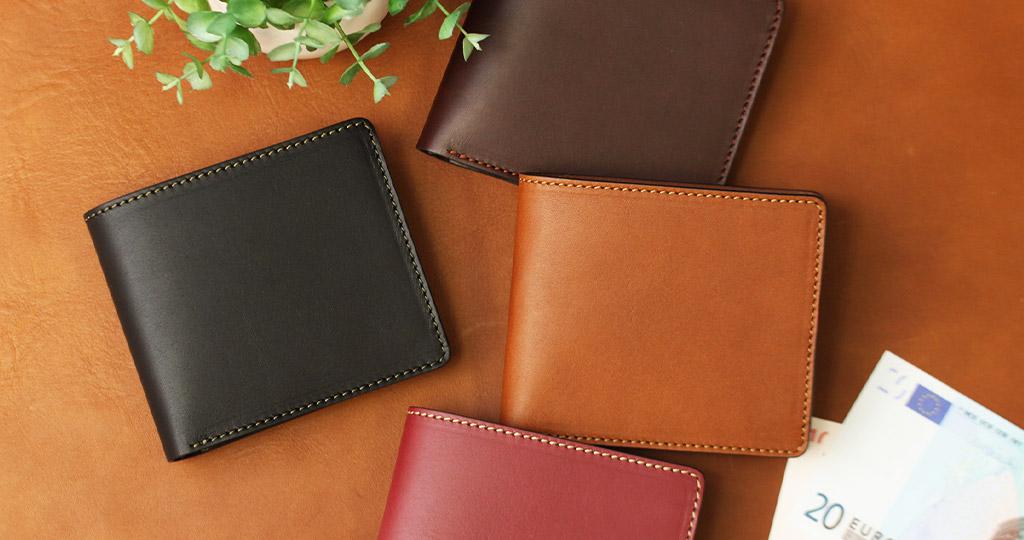 二つ折り財布の画像