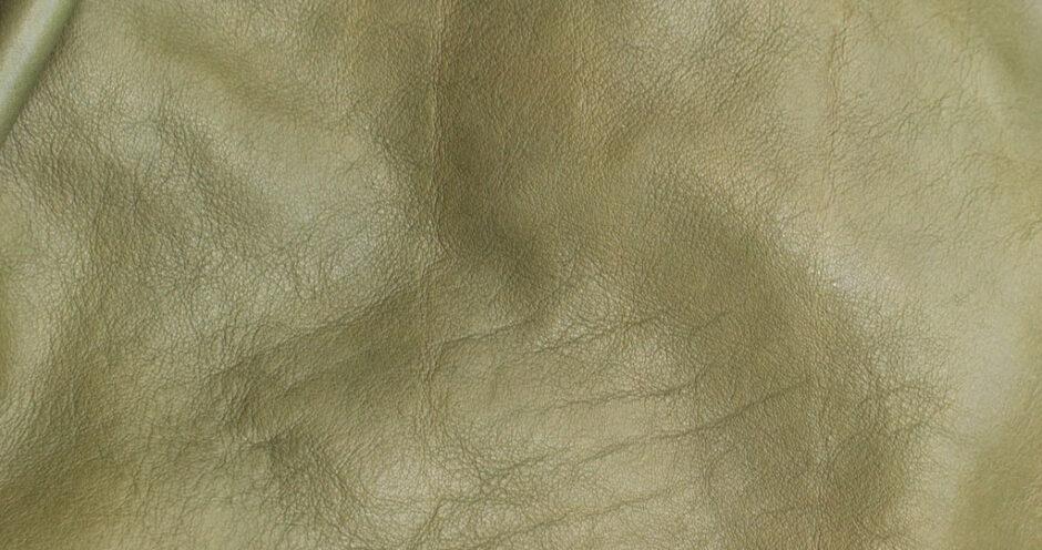 植物タンニンなめしの革の画像