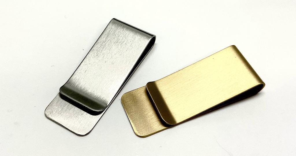 マネークリップ 金属 クリップ シンプル コンパクト