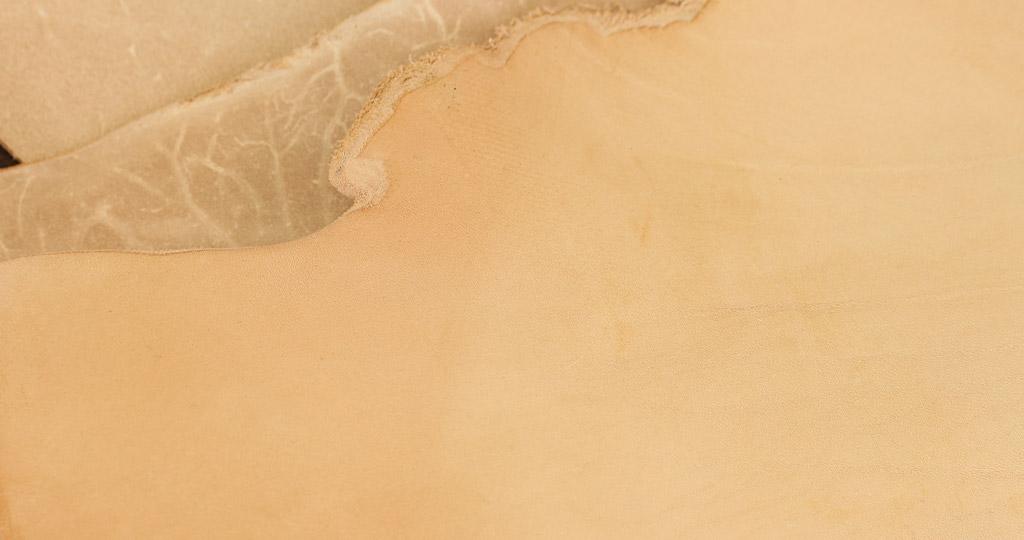 ヌメ革の画像